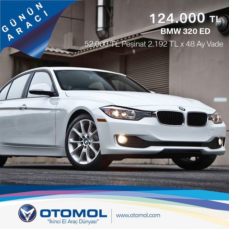 GÜNÜN ARACI* Rakamlarla Konuşan Araba BMW 320 ED  Model Yılı: 2014 - KM: 5.037 KM Fiyat: 124.000 TL Detaylar : http://goo.gl/HFyBzx #gununaraci #otomol #bmw320