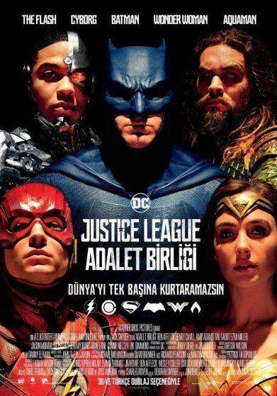 Justice League: Adalet Birliği izle - Superman'in fedakarlıklarından ilham alan Batman'in insanlığa olan inancı toparlanmıştır. Yeni müttefiki Wonder Woman ile insanlığın kaderi için savaşmaya hazırlardır.