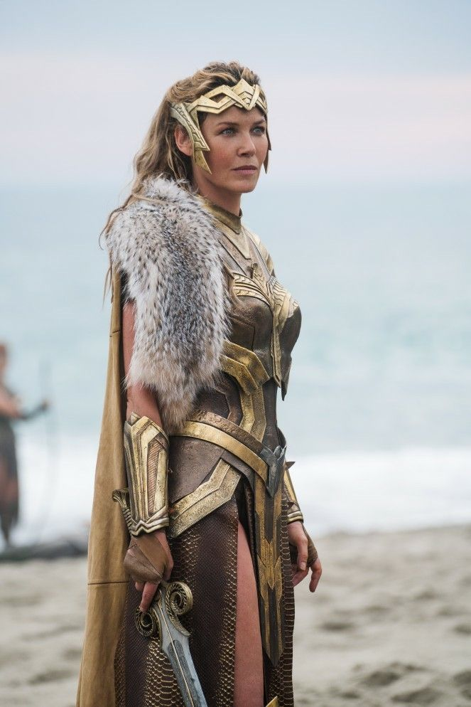 """Amazon Queen Hippolyta, from """"Wonder Woman"""" 2017"""