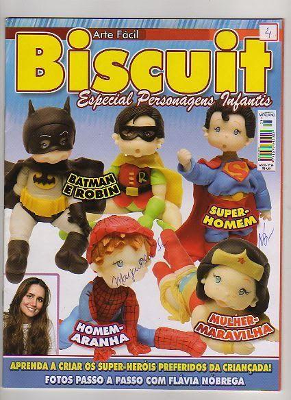 Revistas de manualidades Gratis: Como hacer super héroes en porcelana fria