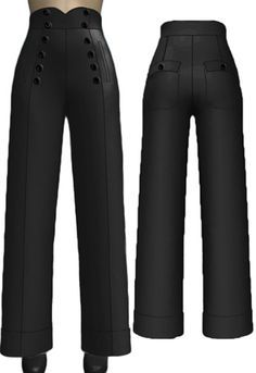 Image result for 1940s inspired pants