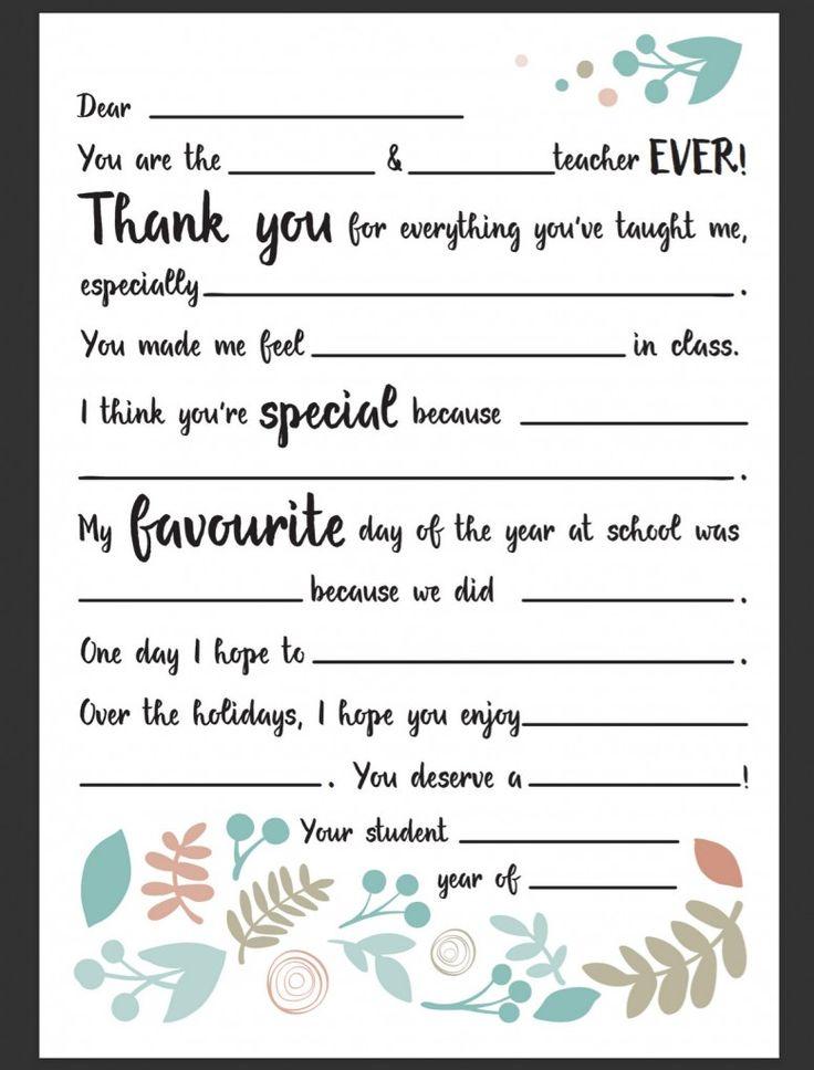 Best 25+ Appreciation note ideas on Pinterest Best notepad - letters of appreciation