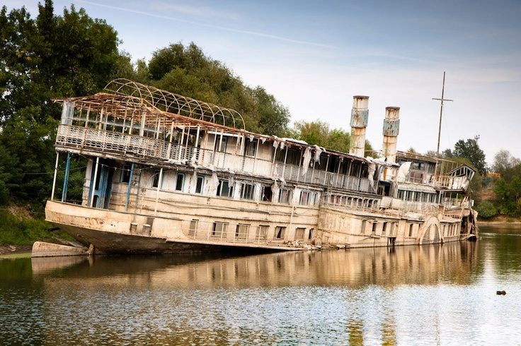 Szőke Tisza (Blond Tisza - a river in Hungary) is the biggest steam ship ever built in Hungary - it is (was)  95 years old.
