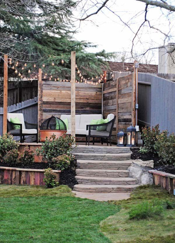 25+ DIY String Lights Ideen für den Herbst Veranda und Hof – deck