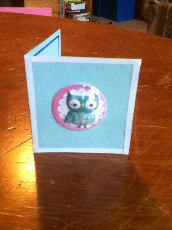 Mini owl card!!!