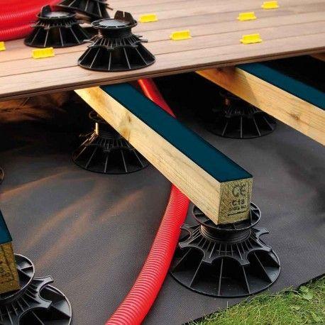 Bande Bitumeuse pour lambourde de terrasse bois BITUDECK