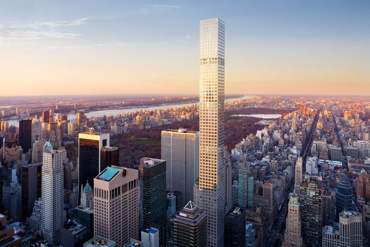 Take a look at one of the most impressive modern skyscraper currently being built in New York City, 432 Park Avenue! Incredibly tall, thin and luxury.