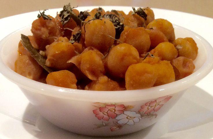 Vegan Chana Masala (No Onion No Garlic)