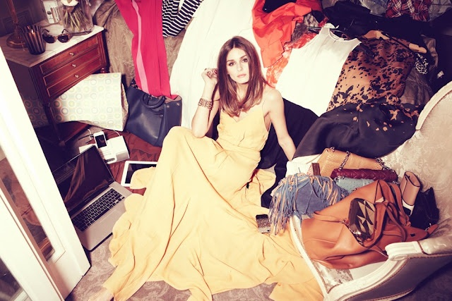 classy amid the clutter.: Flowy Dresses, Yellow Dresses, Cute Couple, Laptops Bags, Style Icons, Olivia Palermo, Lifestyle Photography, Closet, The Dresses