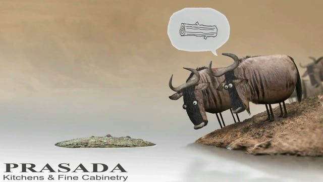 Funny Ad - Kitchen design Mississauga. We at PRASADA are always putting a smile on peoples faces. :-)