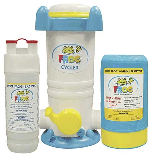Pool Frog Mineral Disinfectant System For Swimming Pools Opening The Pool Pinterest Shops