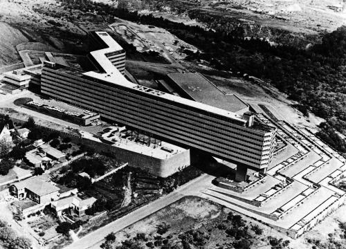 Brian Sandrock, New Campus, University of South Africa, Pretoria, South Africa, 1962