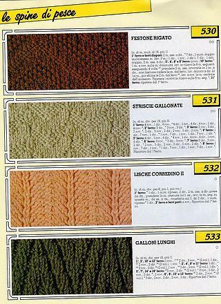 Collezione punti ai ferri 5 / Knitting stitches collection 5
