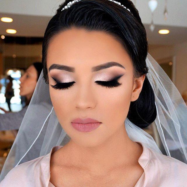 Best 25+ Black Bridal Makeup Ideas On Pinterest