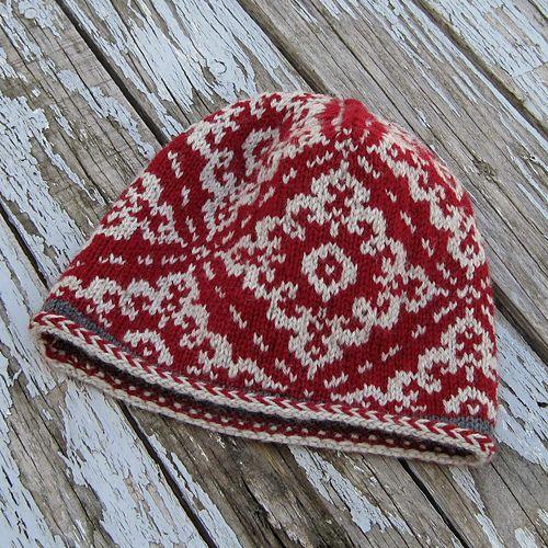 Ravelry: knittingbird55's Inga Hat; free pattern The Inga Hatby Sheila Macdonald