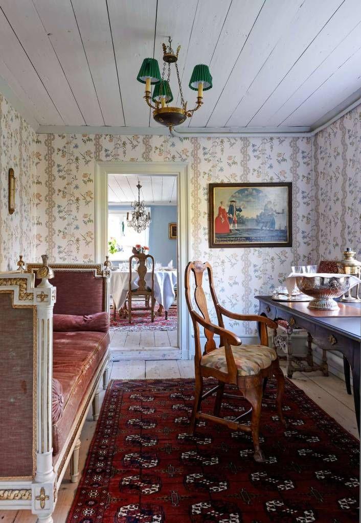 Gamla Taxinge-Näsby har fått behålla sin 1700-talskaraktär - Gods & Gårdar