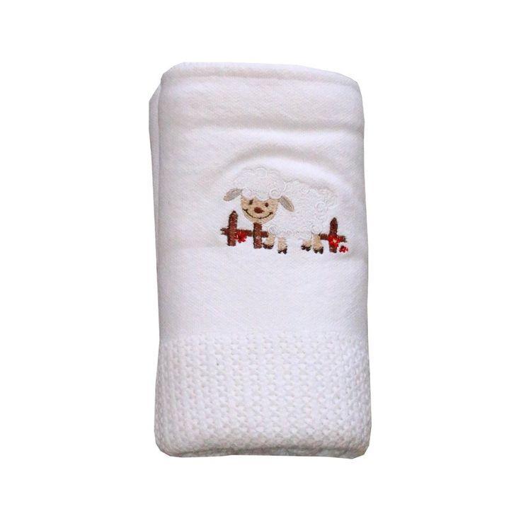 Sheldon Sheep Cellular Blanket - Blankies - Baby Belle