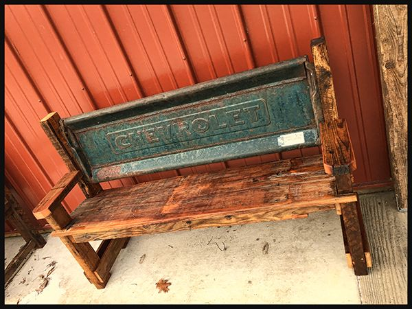 17 best ideas about tailgate bench on pinterest