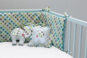 Bumper Lollipop Sea (without fitted sheet) | Nursery Furniture | Baby Accessories Ireland | Cribs.ie