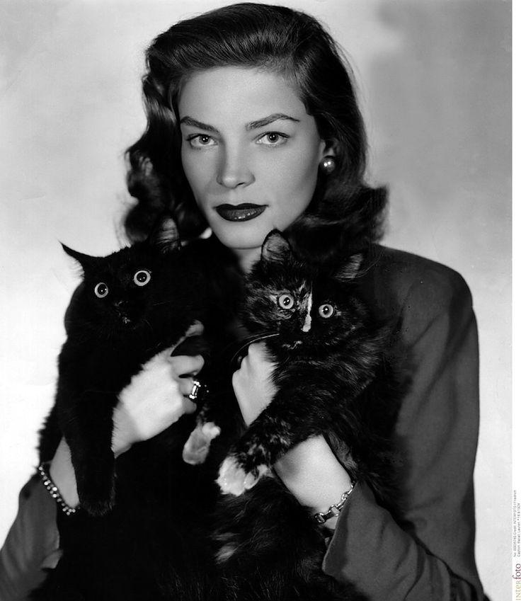 ローレン・バコール(1950)Photo: Interfoto/AFLO