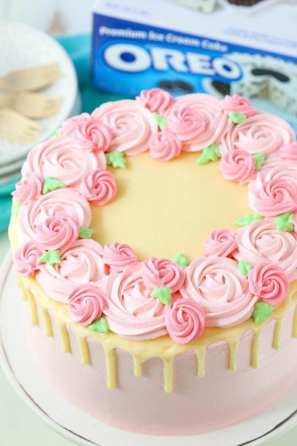 Ice Cream Cake Decorating Tutorial Recipe Cake Decorating Ice