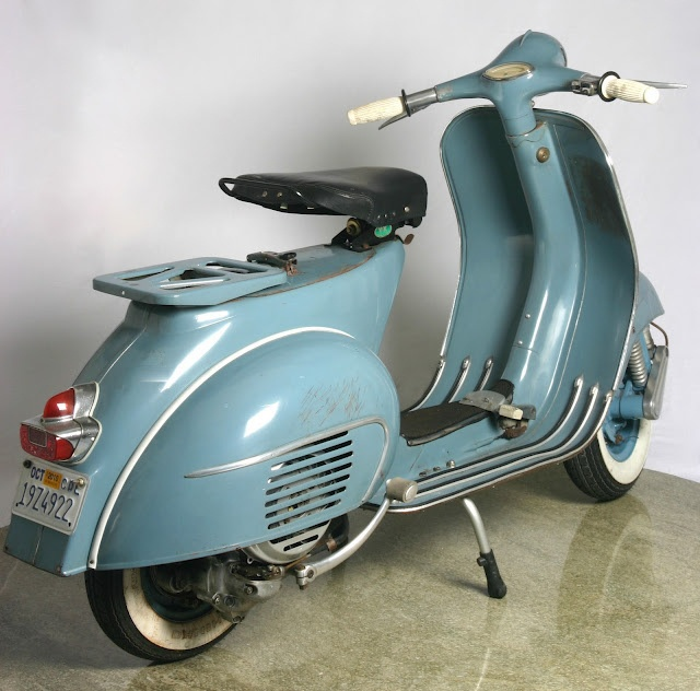 1965 Vespa VBB2 150cc (2) by petermumun, via Flickr