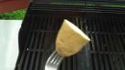 Clean grills with salt and potatoes