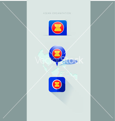 Map icons and design element vector 2984916 - by Fatichah on VectorStock®