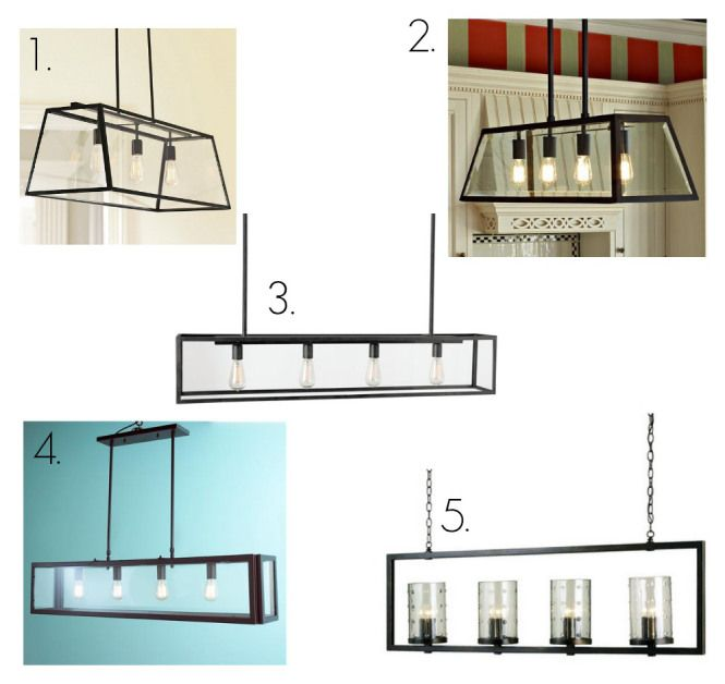 Glass Rectangular Chandelier Round Up These Might Work For My Sister S Island Which Is