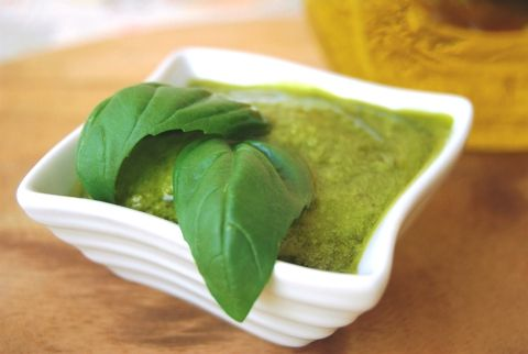Basic Basil Pesto | G-Free Foodie #GlutenFree