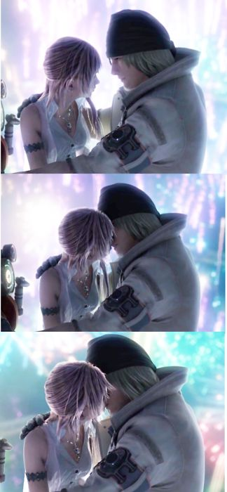 Serah & Snow. they make such a wonderful couple and a sweet one