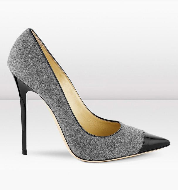 Des escarpins en tweed Jimmy Choo