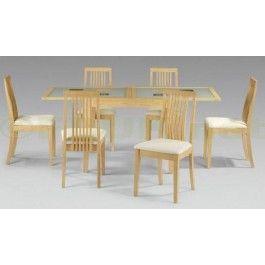 399 99   The Alaska Extending Glass Dining Table and Chairs Set Julian  Bowen is an25 best Glass Extending Dining Set images on Pinterest   Dining  . Extending Glass Dining Table And Chairs. Home Design Ideas