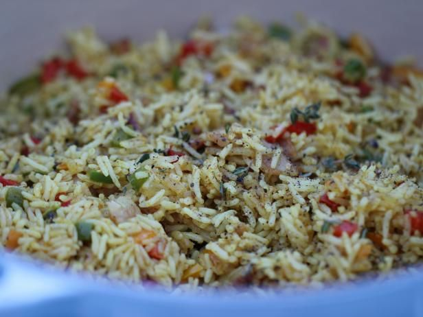 Get Siba Mtongana's 7-Colour Rice Recipe from Cooking Channel
