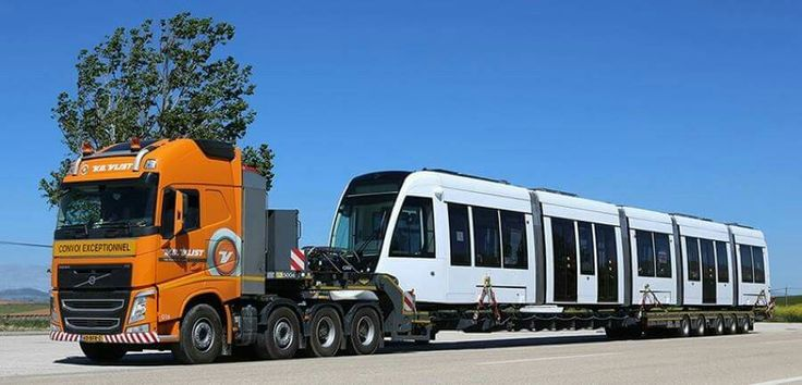 Volvo FH zwaar transport speciaal transport