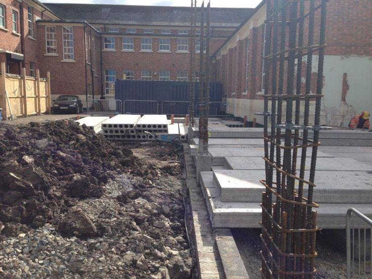 Precast Concrete Flooring for School Development - Read More