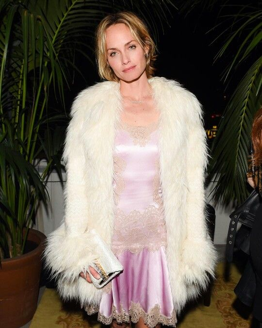 Dolce & Gabbana 2016 Los Angeles Chateau Marmont Fashion Pyjama Party. Sophisticated @ambervalletta at #DGPYJAMAPARTY in Los Angeles. Photo by @bfa for @dolcegabbana. She is wearing Dolce & Gabbana Summer 2016 inside 'Sparkling Night' Collection. Female Clothes Precious Silk Fabrics and Embroidery Lace. More insights on @dolcegabbana.