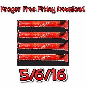 Reminder : Kroger FREE Friday Download Preview 5/6/16 - http://couponsdowork.com/kroger-free-friday-download/reminder-kroger-free-friday-download-preview-5616/