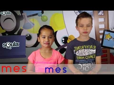 Squla biedt leerzame & leuke quizzen, spelletjes en uitlegfilmpjes. In dit uitlegfilmpje leer je lezen door te hakken en plakken. Yaniek en Sepp doen voor hoe het moet. Heb jij op school al leren hakken en plakken. Yaniek en Sep hakken en plakken met heel veel soorten letters en woorden: van P-E-N tot K-OE-K. Doe maar met ze mee!