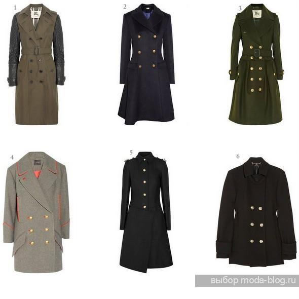 Зимнее пальто в стиле милитари екатеринбург