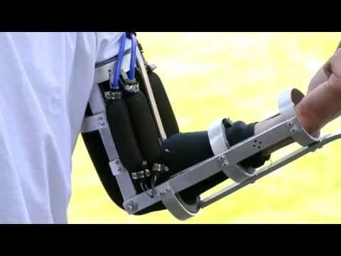 Real Iron Man Prototype Arm, Powered Exoskeleton - YouTube