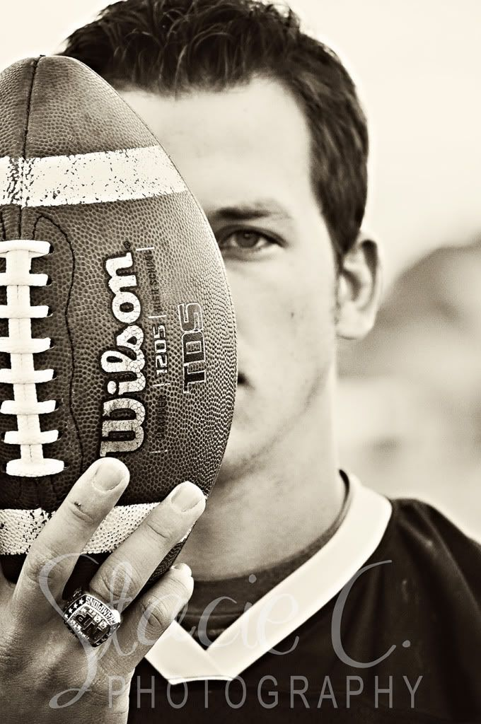 Sports Senior Photo by Stacie C. Photography and other great senior picture ideas