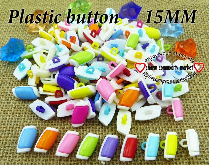 200PCS newly craft plastic cartoon button clothing  jewelry accessorize P-103 $3,73