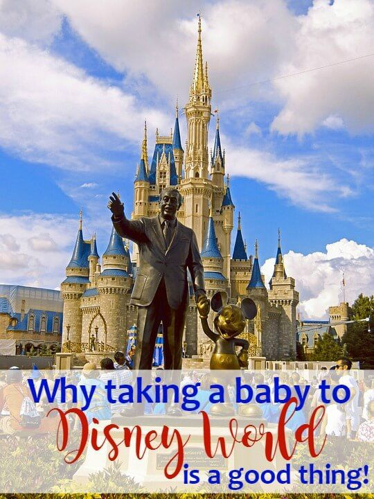 Taking a Baby to Disney World ~ Thinking about a trip to Disney?  Read to find out my #1 reason for taking baby too! http://serendipityandspice.com