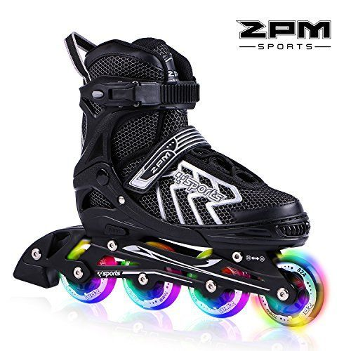Rollerblades for Summertime! You will be happy to see your child rolling in the rink and telling you that how much he/she love this new pair of 2pm Brice inline skates These comfortable pair of skates will help them improve their skating skills along the way to becoming an expert. The soft boot... more details available at https://perfect-gifts.bestselleroutlets.com/gifts-for-teens/skates-skateboards-scooters/product-review-for-2pm-sports-brice-adjustable-inline-skates-featur