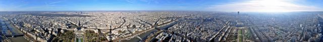 Today is the 125th anniversary of the official completion of the Eiffel Tower. On my first visit to Paris many years ago, I spent an entire morning taking dozens of photos in every direction from viewing platform (like the panorama … Continue reading →