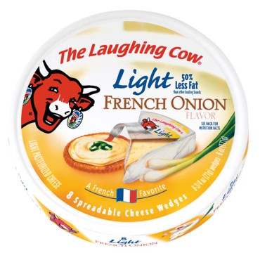 La Vache qui rit parfumée à l'oignon    Exportée dans plus de 120 pays, la Vache qui rit se parfume au gré des envies et des habitudes alimentaires des consommateurs : et les Britanniques adorent tour parfumer à l'oignon, c'est bien connu !  http://www.plurielles.fr/recettes-cuisine/diaporama/decouvrez-la-saga-de-la-vache-qui-rit-en-images-6298202-402-RElBX05VTUVSTyA3.html