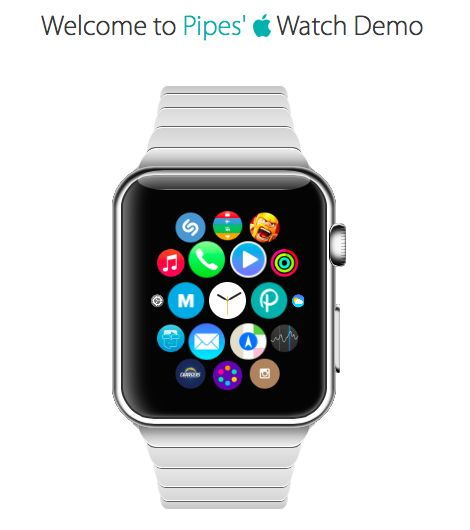 Play with the #applewatch demo !