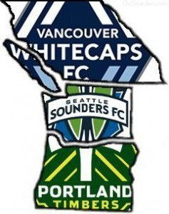 The Cascadia Rivalry - Vancouver Whitecaps FC, Seattle Sounders FC, Portland Timbers FC