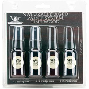 Tattered Angels - Naturally Aged Fine Wood Paint System Kits - Rich Chestnut